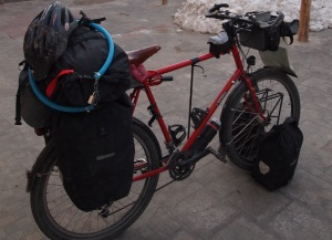 Thorn sherpa Bike set up